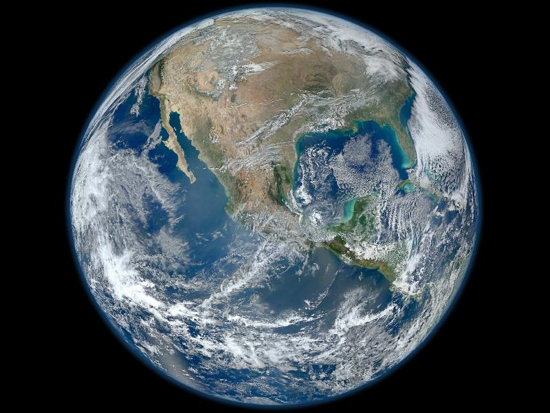 The Big Blue Marble is our home, if we can keep it