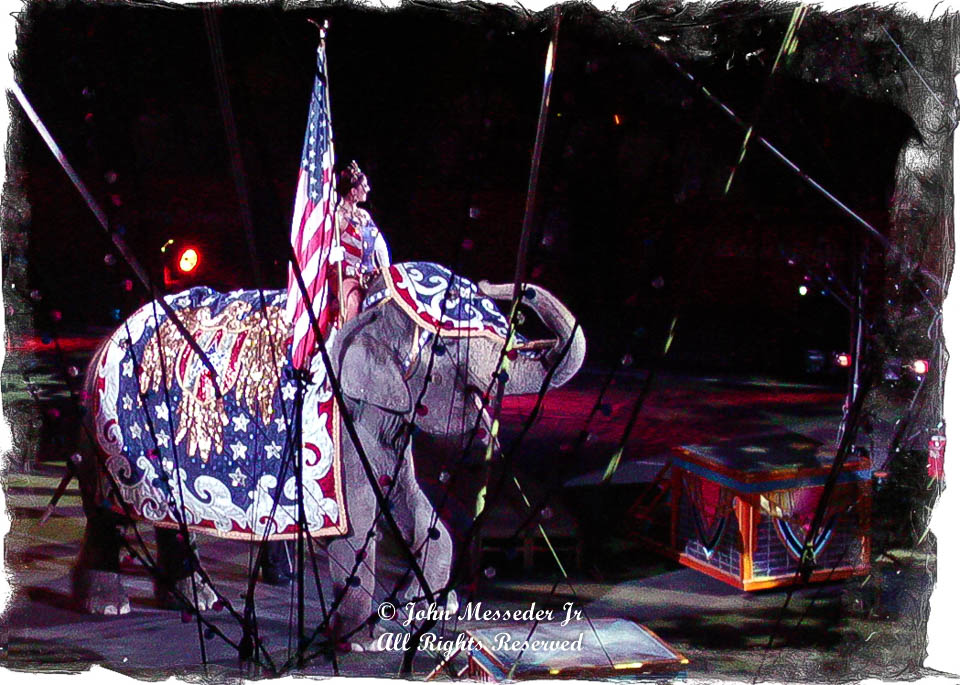 The Greatest Show on Earth fades, with its elephants, into history.
