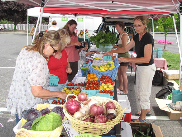 Farm markets are a way to know the food and who produces it