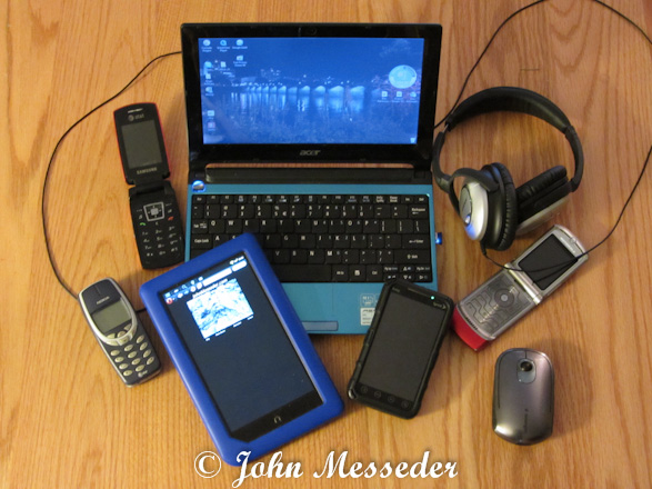 Phones and computers I have owned