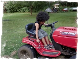 Someday too-soon he will be able to have the engine running.