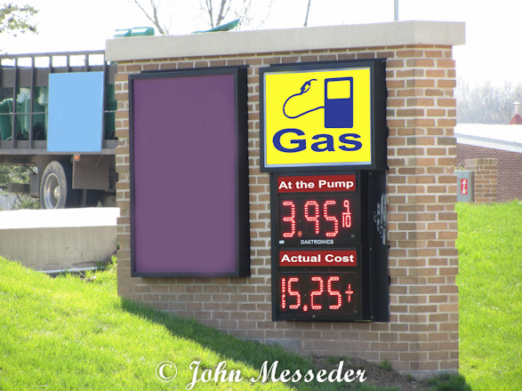 We may pay $3.95 at the pump, but the actual cost is much higher.