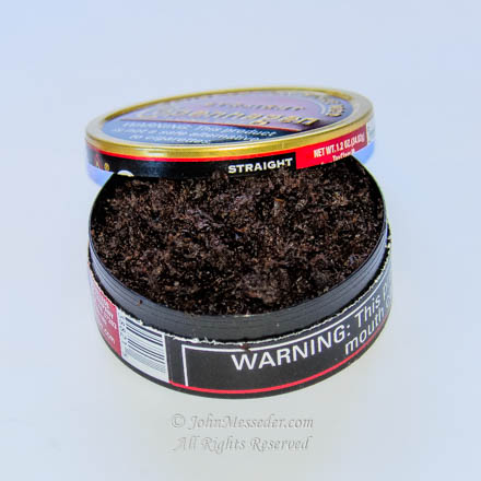 A can of tobacco snuff